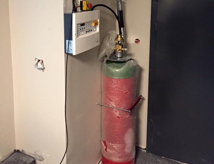 Argon (IG01) INERT Gazlı Yangın Söndürme Sistemleri