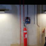 FM 200 Gazlı Söndürme Sistemi
