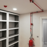 FM 200 Gazlı Yangın Söndürme Sistemi