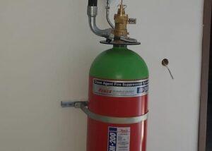 FM200 Gazlı Yangın Söndürme