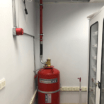 FM200 Gazlı Yangın Söndürme Sistemİ