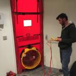 Oda Sızdırmazlık Testi Door Fan Test