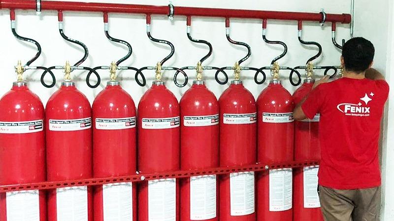 Trafo Yangın Söndürme Sistemi