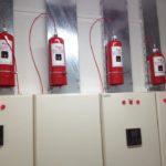 Elektrik Panosu Gazlı Yangın Söndürme Sistemi