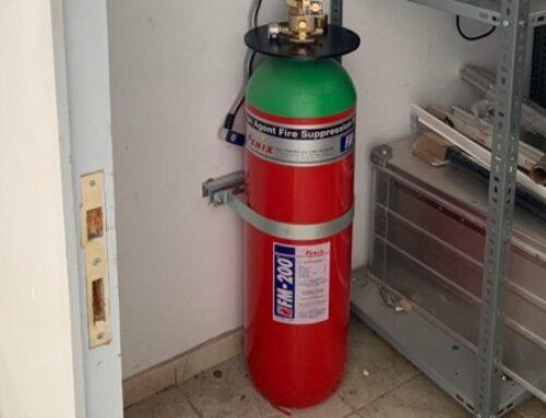 FM 200 Gazlı Yangın Söndürme Sistemleri Fiyatı