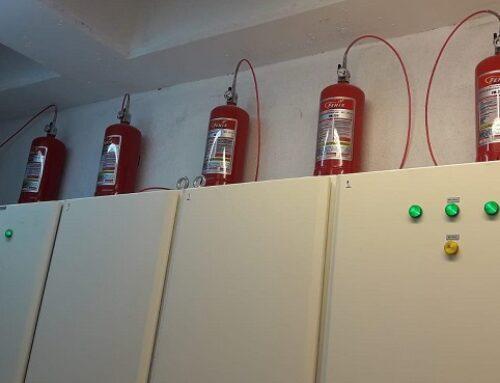 Kabin Ve Elektrik Panosu Yangın Söndürme Sistemleri