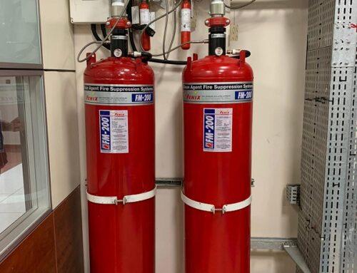 FM 200 Gazlı Yangın Söndürme Sistemi Fiyatı