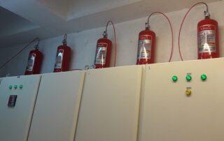 Pano İçi Yangın Söndürme Sistemi